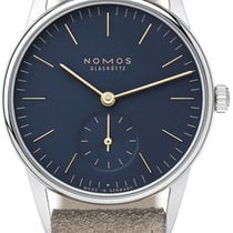 NOMOS Orion 33 Steel 32.8mm Blue United States of America, New York, Airmont
