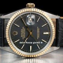 Rolex Datejust Aur/Otel 36mm Negru