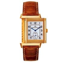 Jaeger-LeCoultre Reverso Grande Taille pre-owned Silver Fold clasp