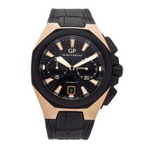 Girard Perregaux pre-owned Automatic 44mm Black