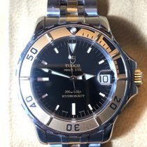 Tudor Hydronaut Gold/Steel 36mm Black No numerals
