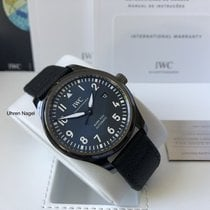 IWC Pilot Mark Keramikk 41mm Blå Arabisk