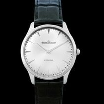 Jaeger-LeCoultre Steel Automatic Silver 41mm new Master Ultra Thin