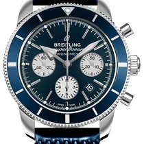 Breitling Superocean Héritage II Chronographe Steel 44mm Blue United States of America, California, Moorpark