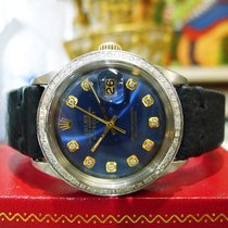Rolex Datejust Gold/Steel 36mm Blue