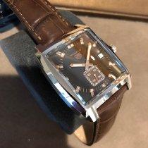 TAG Heuer Monaco Lady Steel 37mm Brown