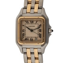 Cartier Panthère Gold/Steel 27mm Champagne Roman numerals United States of America, Texas, Austin