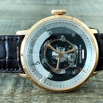 Arnold & Son Rose gold 44mm Automatic 1HVAR.M01A.C120A new