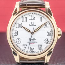 Omega De Ville Co-Axial Rose gold 44mm White Arabic numerals United States of America, Massachusetts, Boston