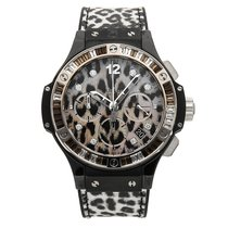 Hublot White gold Automatic Black No numerals 41mm pre-owned Big Bang 41 mm