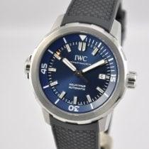 IWC Aquatimer Automatic Сталь 42mm Синий Без цифр
