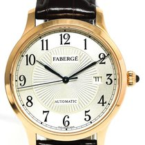 Fabergé Rose gold Automatic M1102 pre-owned
