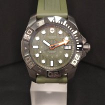 Victorinox Swiss Army Dive Master 500 Stal 43mm Zielony