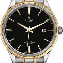 Tudor Style Acier 41mm Noir