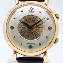 Cartier Rose gold 39mm Automatic 442 26 pre-owned Singapore, 10 Admiralty Street #05-12 Northlink Building, Singapore 757695