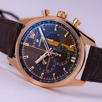 Zenith El Primero Chronograph Rose gold 42mm Brown No numerals United States of America, New Jersey, Princeton