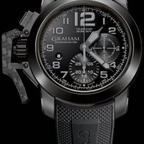Graham Chronofighter Steel Black & White