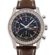 Breitling Navitimer World 46 Chronograph Black Dial