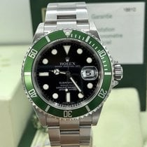 Rolex Anniversary Submariner Green KermitPapers 2007 Z Serial