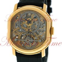 Daniel Roth Yellow gold 35mm Manual winding Double Face pre-owned United States of America, New York, New York