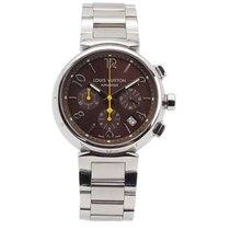 Louis Vuitton Staal 41mm Automatisch Q1121 tweedehands