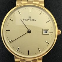 Helvetia new Quartz 31mm Yellow gold