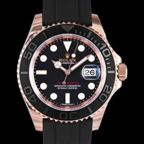 Rolex Yacht-Master 40 Rose gold 40mm Black United States of America, California, San Mateo
