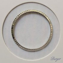 Rolex Bezel 18K White Gold Fluted 36mm for Ref 16XX 16xxx
