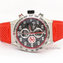 TAG Heuer Carrera Calibre HEUER 01 Titan 43mm Transparent