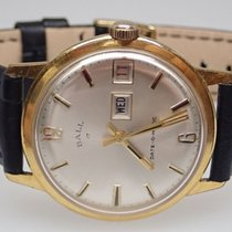 Ball Date-O-Matic Vintage Gold Plated Manual Wind Mens Watch...