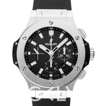 Hublot Big Bang Steel Black Steel/Rubber 44mm - 301.SX.1170.RX