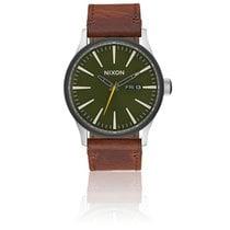 Nixon Sentry Leather Surplus/Brown A105-2334