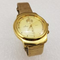 Jacques Etoile Goud/Staal 35mm Quartz tweedehands