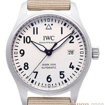 IWC Pilot Mark Steel 40mm Silver Arabic numerals