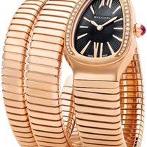 Bulgari Serpenti Rose gold 35mm Black No numerals United States of America, New York, NYC