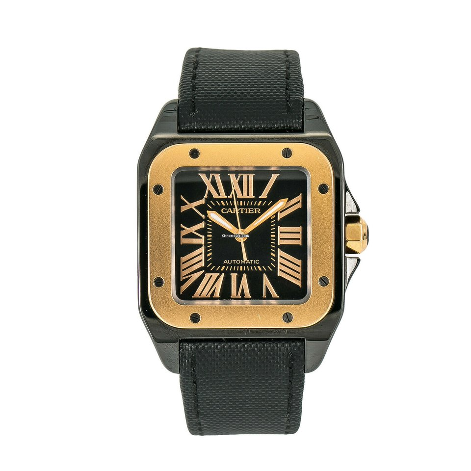 509e6d875368a Cartier Santos 100 Steel - all prices for Cartier Santos 100 Steel watches  on Chrono24