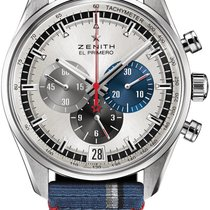 Zenith El Primero Steel 42mm Silver United States of America, New York, Airmont