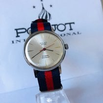 Poljot Steel 36mm Manual winding pre-owned