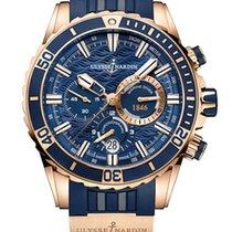Ulysse Nardin Diver Chronograph 1502-151-3/93 new
