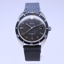 Omega Seamaster Steel 37mm Black No numerals