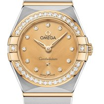 Omega Constellation Quartz yeni 2020 Quartz Orijinal kutuya ve orijinal belgelere sahip saat 131.25.25.60.58.001