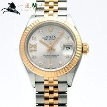 Rolex Lady-Datejust Acciaio 28mm Argento