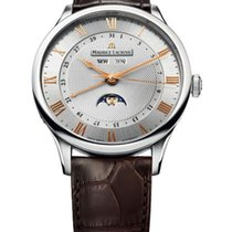 Maurice Lacroix Masterpiece Phases de Lune new 2015 Automatic Watch with original papers MP6607-SS001-111-1