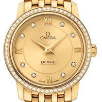 Omega De Ville Prestige Жёлтое золото 27.4mm Цвета шампань