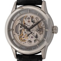 Oris Artelier Translucent Skeleton Steel 40mm United States of America, Texas, Austin