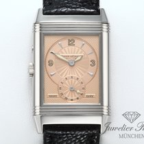 Jaeger-LeCoultre Reverso Duetto Oro blanco 26mm Negro Árabes