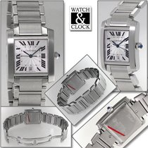 Cartier new Automatic 28mm Steel Sapphire crystal