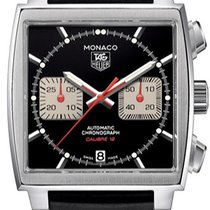 TAG Heuer Monaco Calibre 12 new Automatic Chronograph Watch with original box and original papers CAW2114.FT6021