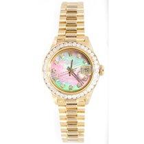 Rolex Presidential 69178 Lady's 18K Yellow Gold Custom...