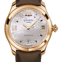 Glashütte Original Rose gold Automatic Mother of pearl 36mm new Lady Serenade
